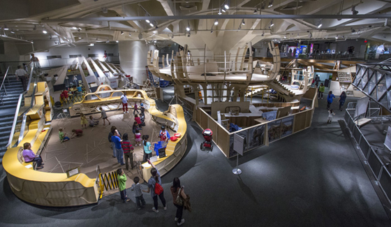 photo by Andrew Kelly for the New York Hall of Science