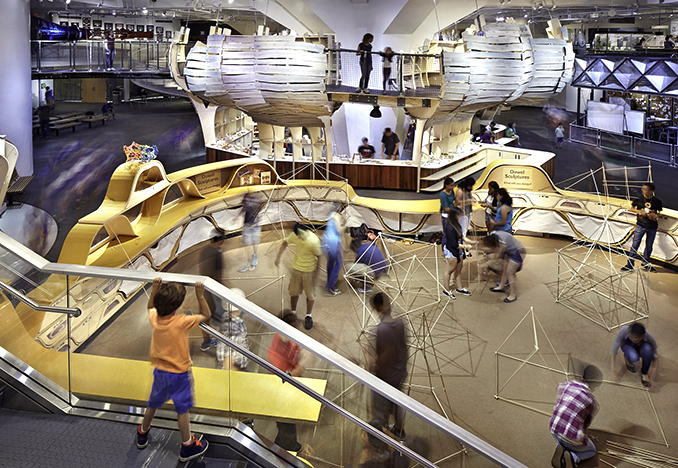New York Hall of Science: Design Lab, 2014. Photograph by John Muggenborg